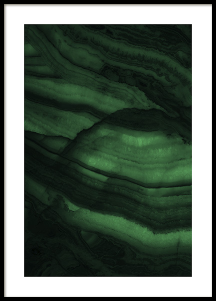 Green Granite Poster in the group Prints / Photographs at Desenio AB (11002)