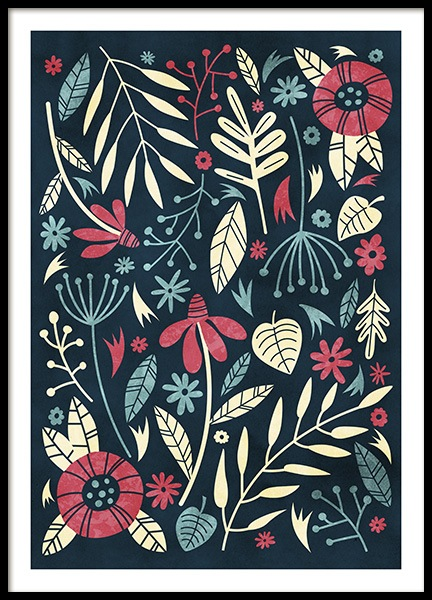 Julepa Poster in the group Prints / Floral at Desenio AB (11101)