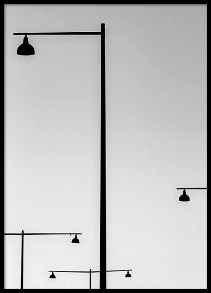 Streetlights Poster in the group Prints / Photographs at Desenio AB (11123)