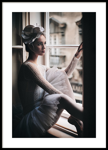 Young Ballerina Poster in the group Prints / Photographs at Desenio AB (11145)