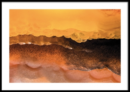Stone Desert Poster in the group Prints / Art prints / Abstract art at Desenio AB (11152)