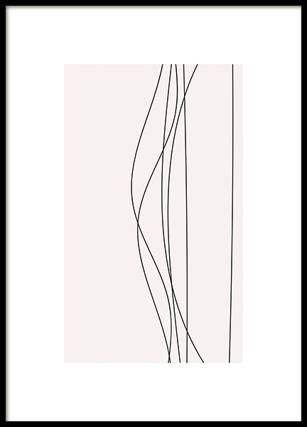 Linee No1 Poster in the group Prints / Art prints at Desenio AB (11226)