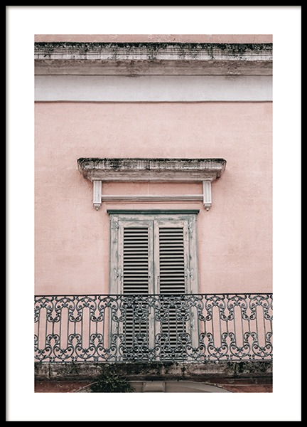 Balcony Poster in the group Prints / Photographs at Desenio AB (11245)