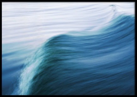 Blurry Wave Poster in the group Prints / Nature at Desenio AB (11249)