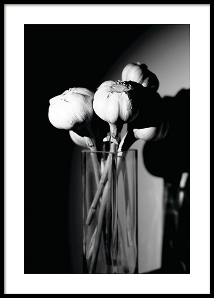 Garlic in a Vase Poster in the group Prints / Kitchen at Desenio AB (11278)