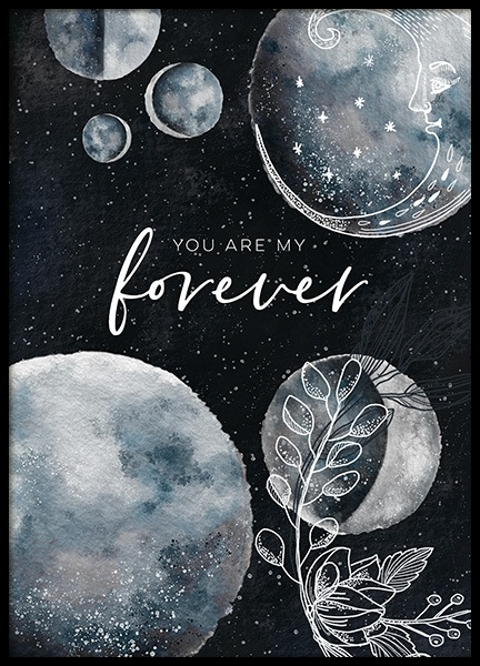 My Forever Poster in the group Prints / Kids posters at Desenio AB (11292)
