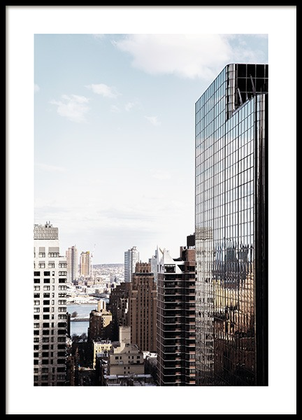 NYC Skyscraper Poster in the group Studio Collections / Studio Cosmopolitan / New York at Desenio AB (11325)