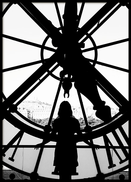 Time in Paris Poster in the group Studio Collections / Studio Cosmopolitan at Desenio AB (11333)