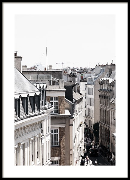 Paris Street Poster in the group Prints / Photographs at Desenio AB (11341)