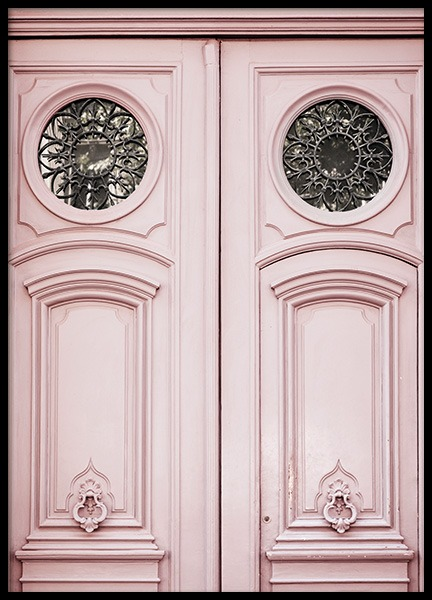 Pink Door Poster in the group Prints / Photographs at Desenio AB (11349)