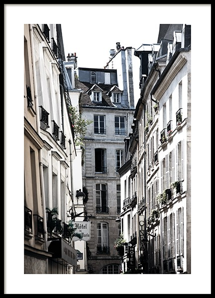 Paris Alley Poster in the group Prints / Photographs at Desenio AB (11350)