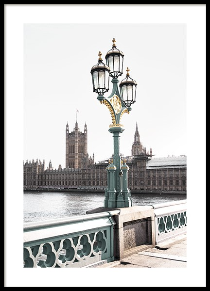 Westminster Bridge Poster in the group Prints / Photographs at Desenio AB (11354)