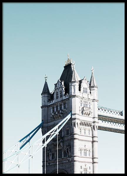 Tower Bridge Poster in the group Prints / Photographs at Desenio AB (11356)