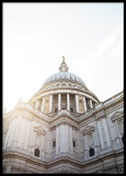 St Paul's Cathedral Poster in the group Prints / Photographs at Desenio AB (11357)