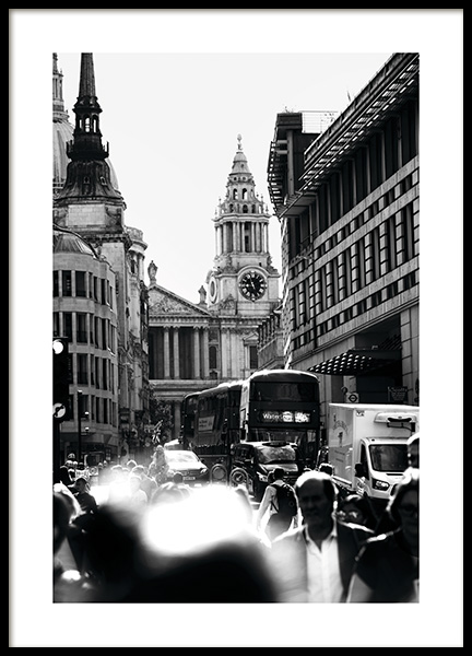 Streets of London Poster in the group Studio Collections / Studio Cosmopolitan at Desenio AB (11365)