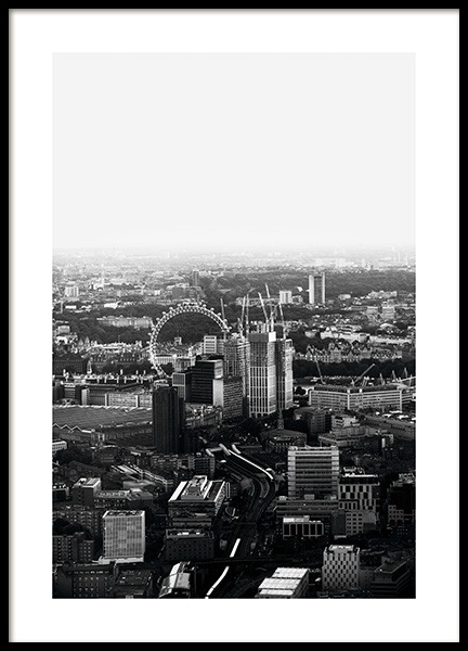 London View Poster in the group Studio Collections / Studio Cosmopolitan at Desenio AB (11374)
