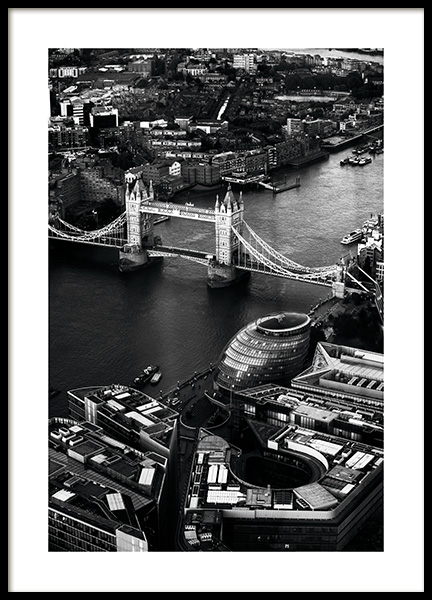 View of Tower Bridge Poster in the group Studio Collections / Studio Cosmopolitan at Desenio AB (11375)
