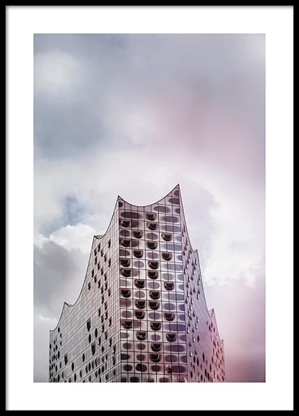 Elbphilharmonie Poster in the group Prints / Photographs at Desenio AB (11390)