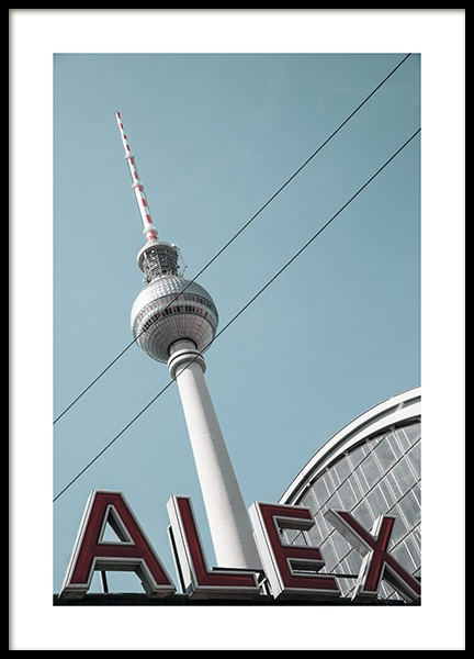Alexanderplatz Poster in the group Studio Collections / Studio Stadtkind / Berlin at Desenio AB (11410)