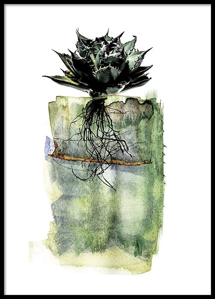 Agave Roots Poster in the group Prints / Art prints at Desenio AB (11564)