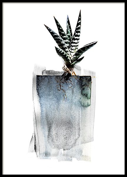 Aloe Roots Poster in the group Prints / Art prints at Desenio AB (11568)