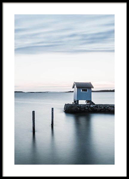Little House by the Sea Poster in the group Prints / Nature at Desenio AB (11583)