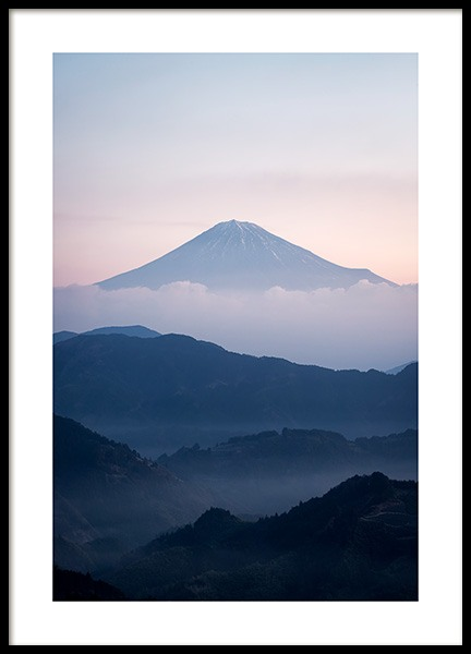 Mt. Fuji Poster in the group Prints / Nature at Desenio AB (11585)