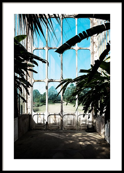 Window in Kew Garden Poster in the group Prints / Photographs at Desenio AB (11592)