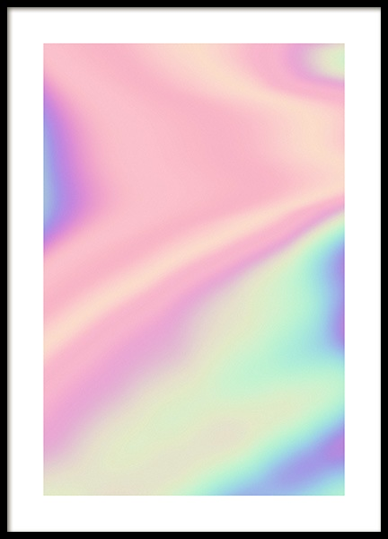 Holographic Rainbow Poster in the group Prints / Photographs at Desenio AB (11927)