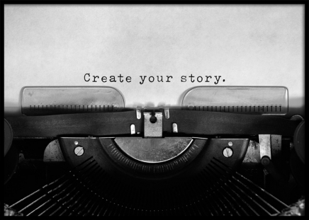 Create Your Story Poster in the group Prints / Text posters at Desenio AB (11952)
