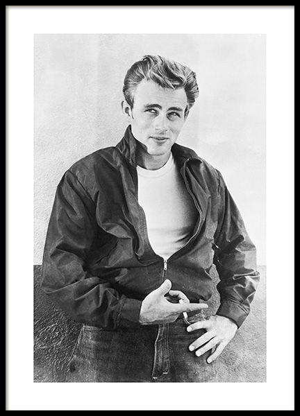 James Dean Poster in the group Prints / Iconic photos at Desenio AB (11965)