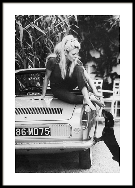 Brigitte Bardot Poster in the group Prints / Iconic photos at Desenio AB (11977)