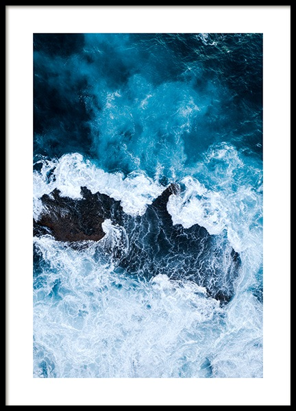 Rough Sea Poster in the group Prints / Nature at Desenio AB (12067)
