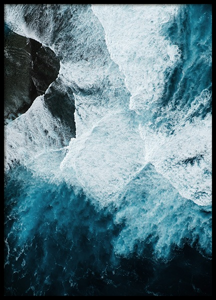 Ocean Rock Poster in the group Prints / Nature prints at Desenio AB (12068)