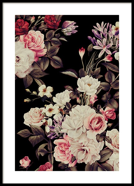 Vintage Roses Poster in the group Prints / Art prints at Desenio AB (12093)
