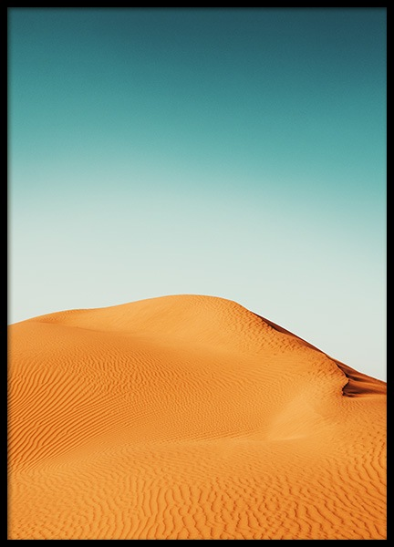 Orange Dunes Poster in the group Prints / Nature at Desenio AB (12224)