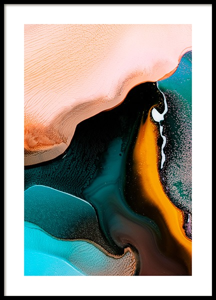 Abstract Inks No2 Poster in the group Prints / Art prints at Desenio AB (12231)