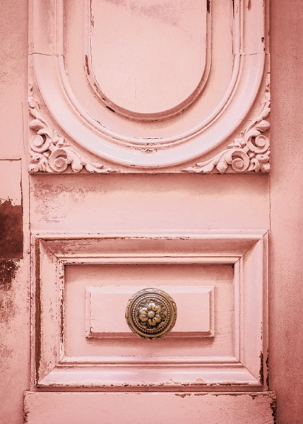 Pink Vintage Door Poster in the group Prints / Photographs at Desenio AB (12259)