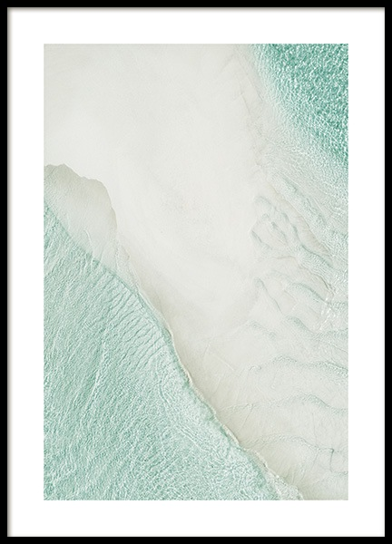 Beach Aerial Poster in the group Prints / Nature at Desenio AB (12272)