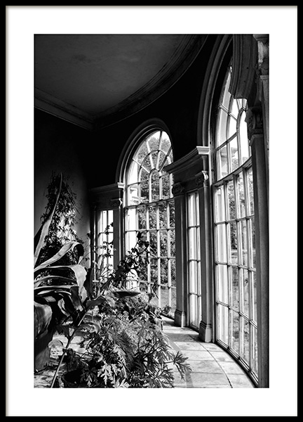 Garden of Light Poster in the group Prints / Black & white at Desenio AB (12293)
