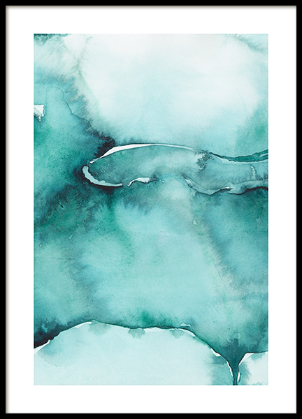 Abstract Watercolor No3 Poster in the group Prints / Art prints / Abstract art at Desenio AB (12368)