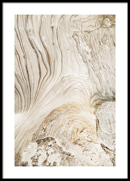 Abstract Cliffs Poster in the group Prints / Nature at Desenio AB (12398)