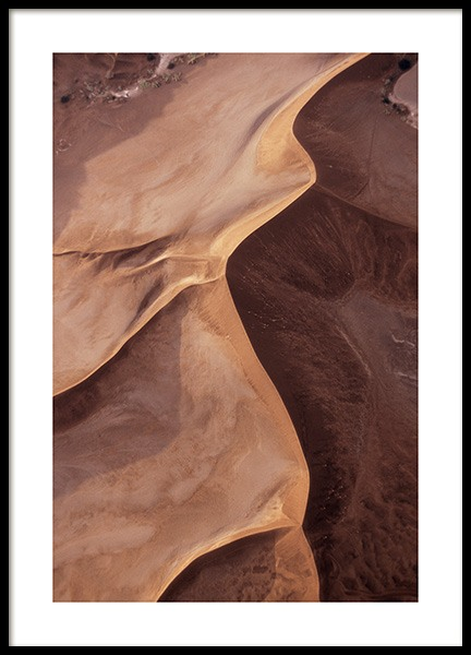 Sand Formations Poster in the group Prints / Nature at Desenio AB (12399)