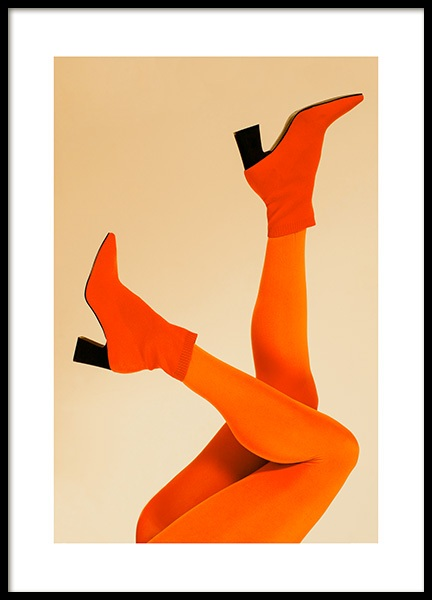 Orange Legs Poster in the group Prints / Photographs at Desenio AB (12402)