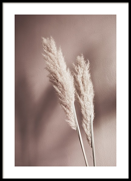 Beige Reeds No2 Poster in the group Prints / Sizes / 50x70cm | 20x28 at Desenio AB (12426)