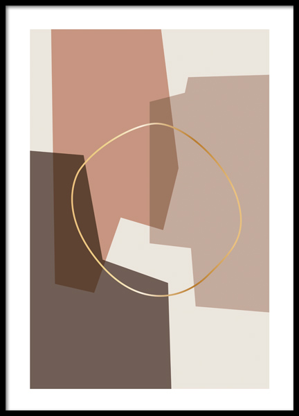 Abstract Composition Poster in the group Prints / Art prints at Desenio AB (12516)