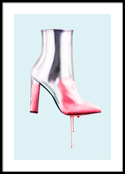 Dripping with Pink Poster in the group Prints / Fashion at Desenio AB (12526)