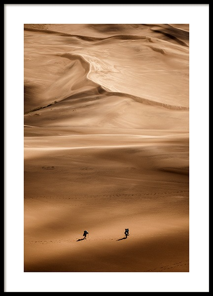 Wanderers Poster in the group Prints / Nature / Deserts at Desenio AB (12533)