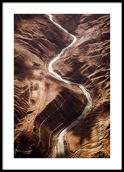 Himalayan Canyon Poster in the group Prints / Nature at Desenio AB (12537)