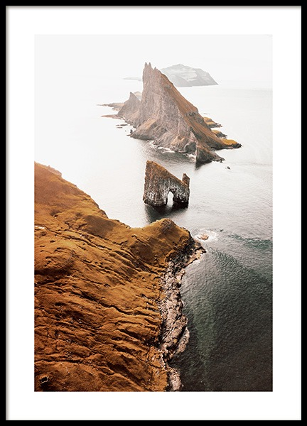 Faroe Island Poster in the group Prints / Nature at Desenio AB (12538)